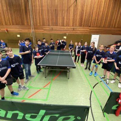Bezirks-Tischtennisturnier gespielt