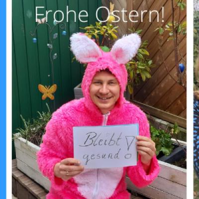 Wir von der JKG wünschen schöne Osterferien!